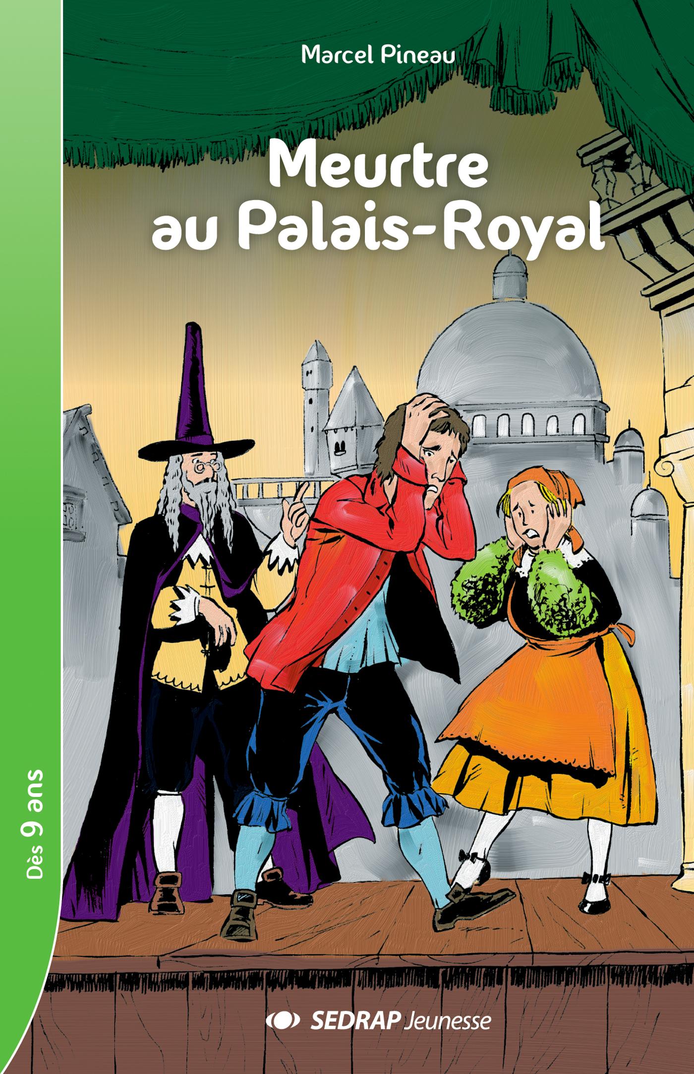 MEURTRE AU PALAIS-ROYAL - ROMAN