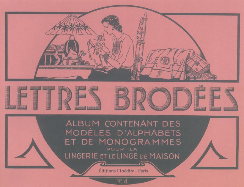 LETTRES BRODEES T4