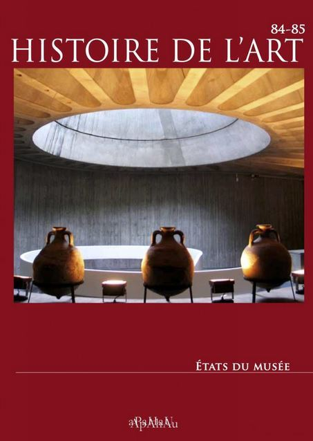 HISTOIRE DE L'ART, 84-85 : ETATS DU MUSEE