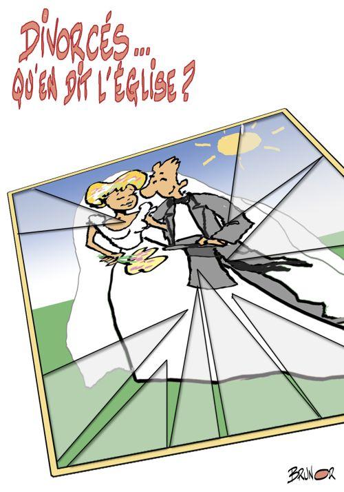 DIVORCES QU EN DIT L EGLISE ?