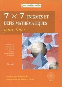 7X7 ENIGMES 4EME/3EME
