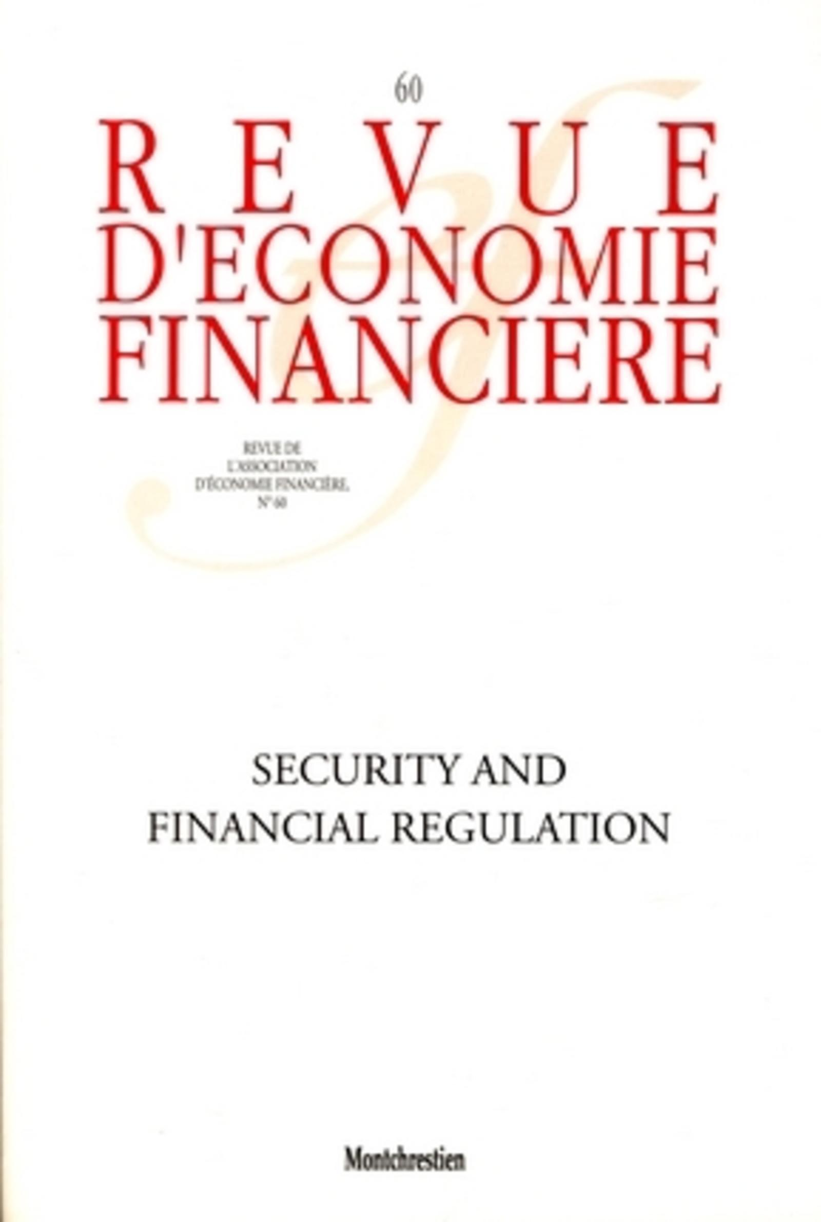 SECURITY AND FINANCIAL REGULATION - N  60