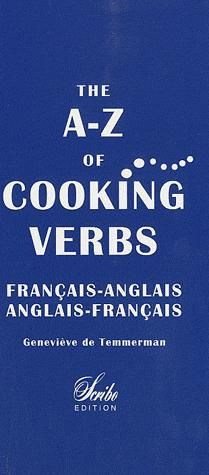 A-Z OF COOKING VERBS
