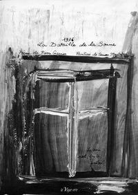 1916, LA BATAILLE DE LA SOMME  POEME DE PIERRE GARNIER ET PEINTURES DE SAUSEN MUSTAFOVA