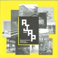 AJAP 2016 ALBUMS DES JEUNES ARCHITECTES ET PAYSAGISTES