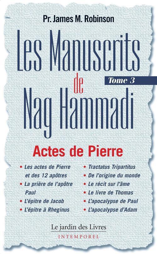 NAG HAMMADI - MANUSCRITS (TOME 3)