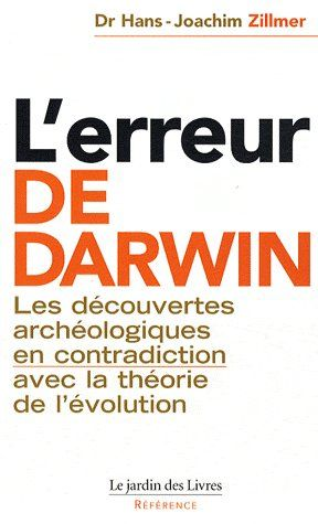 ERREUR DE DARWIN