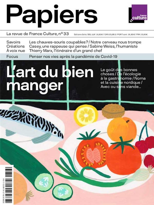 PAPIERS, LA REVUE DE FRANCE CULTURE, N 33