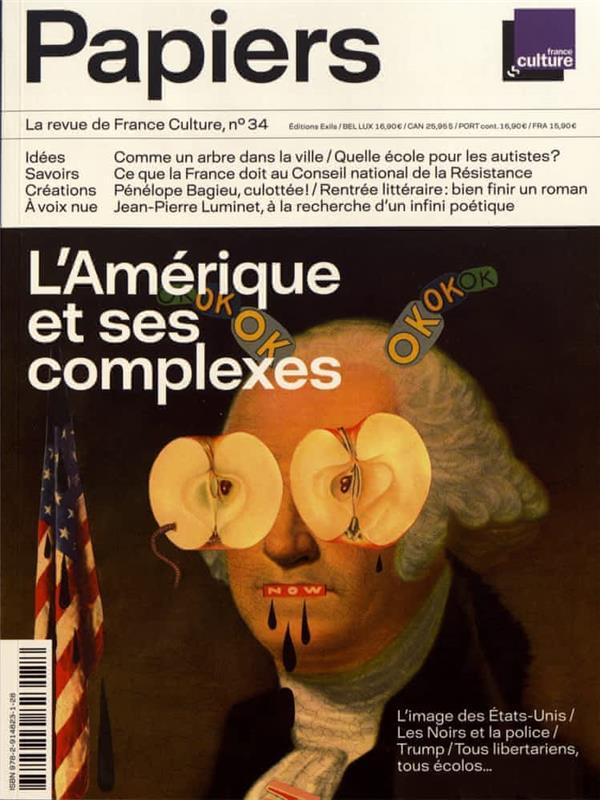 PAPIERS, LA REVUE DE FRANCE CULTURE, N 34