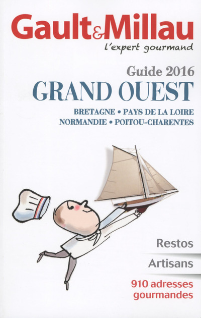 GUIDE GAULT & MILLAU GRAND OUEST 2016
