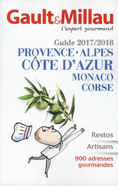 GUIDE PROVENCE ALPES COTE D'AZUR MONACO CORSE 2017/2018