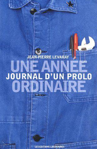 JOURNAL D'UN PROLO