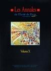 LES ANNALES DE L'EPM - VOLUME X. TRAVAUX DE L'ANNEE 2003