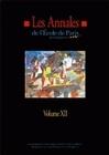 LES ANNALES DE L'EPM - VOLUME XII. TRAVAUX DE L'ANNEE 2005