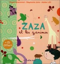 ZAZA ET LES ZANIMOS - LIVRE + CD