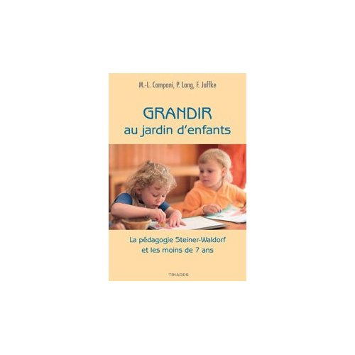 GRANDIR AU JARDIN D'ENFANTS
