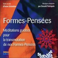 FORMES-PENSEES - LIVRE AUDIO