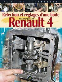 RENAULT 4 : REFECTION ET REGLAGES D'UNE BOITE