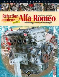 ALFA ROMEO [REFECTION MOTEUR BIARBRE] - T1 : DEMONTAGE, AUTOPSIE ET METROLOGIE