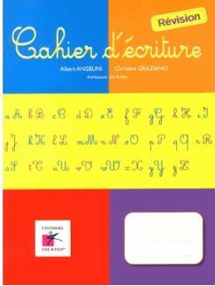 CAHIER D'ECRITURE - REVISION
