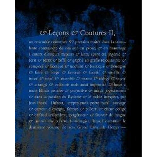 & LECONS & COUTURES II