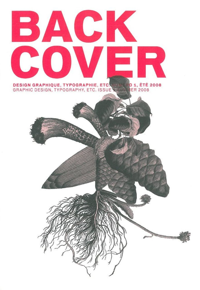 BACK COVER N 1 - DESIGN GRAPHIQUE, TYPOGRAPHIE, ETC.