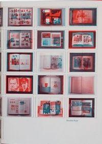 DOUBLE PAGE - 50 GRAPHISTES, 100 LIVRES D'ART, 10 ANS