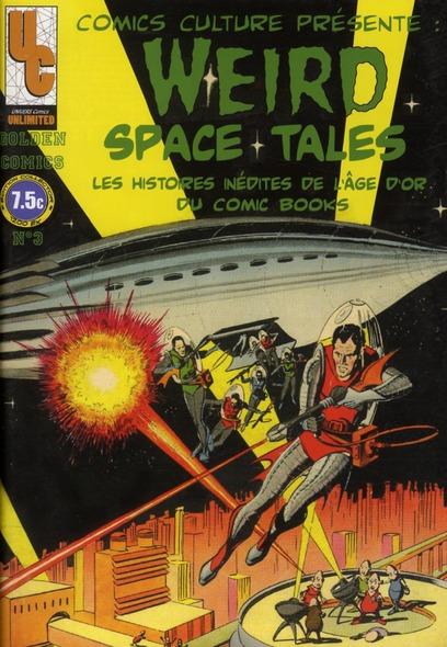 GOLDEN COMICS N 03 WEIRD SPACE TALES