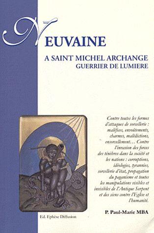 NEUVAINE A ST MICHEL ARCHANGE