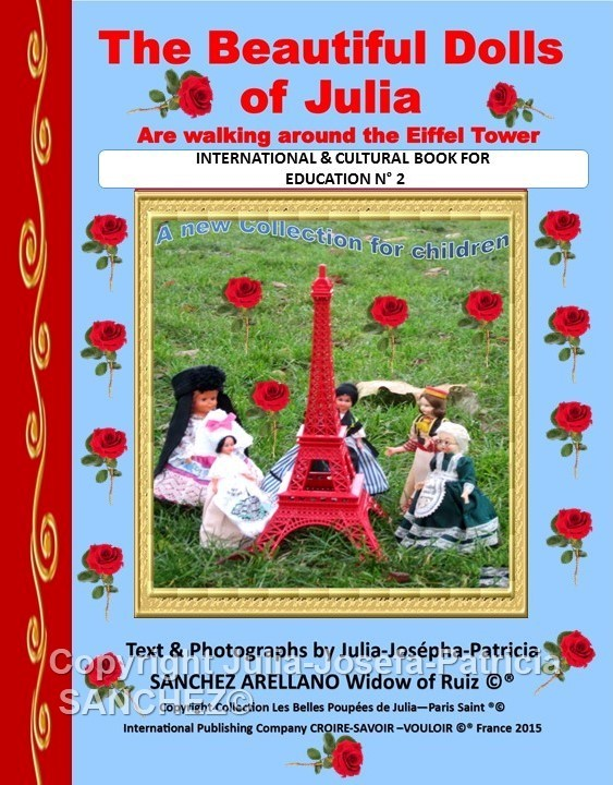 BOOK THE BEAUTIFUL DOLLS OF JULIA ARE WALKING AROUND THE EIFFEL TOWER