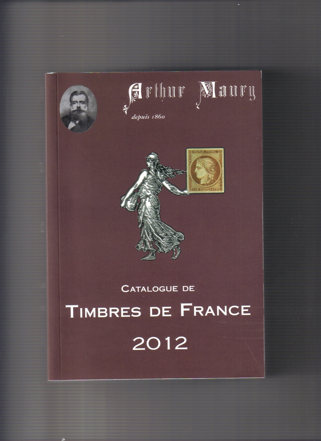 CATALOGUE TIMBRES DE FRANCE 2012