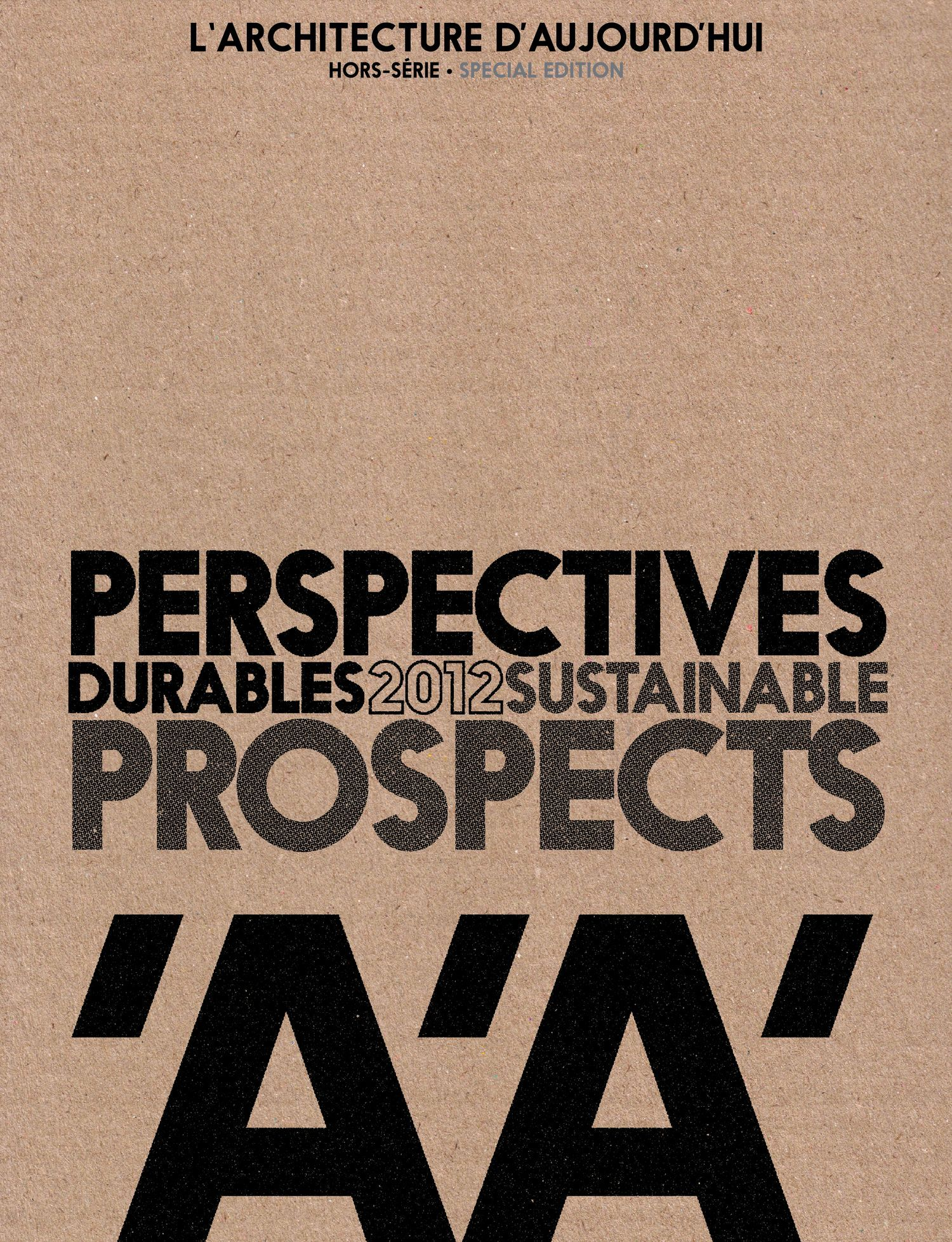 PERSPECTIVES DURABLES 2012