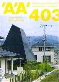L ARCHITECTURE D AUJOURD HUI N 403 LOGEMENT PAVILLONAIRE