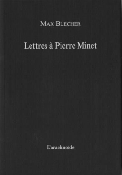 LETTRES A PIERRE MINET