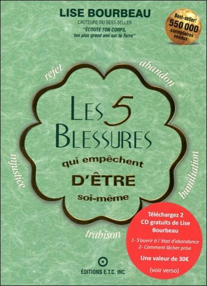 5 BLESSURES QUI EMPECHENT D'ETRE SOI-MEME