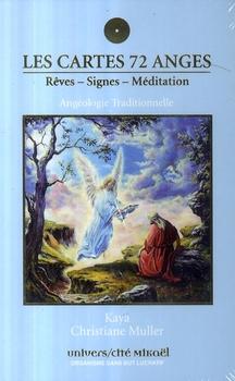 CARTES 72 ANGES - REVES - SIGNES - MEDITATION