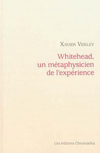 WHITEHEAD, UN METAPHYSICIEN DE L'EXPERIENCE