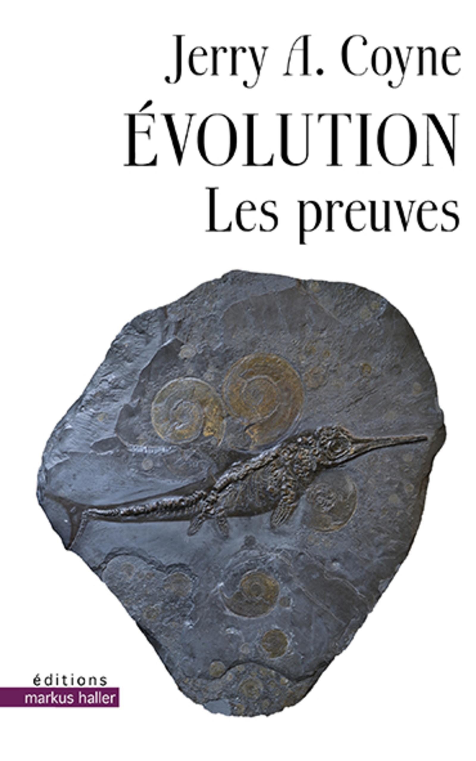 EVOLUTION - LES PREUVES