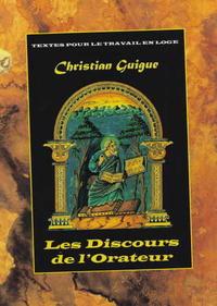 LES DISCOURS DE L'ORATEUR