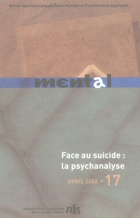 MENTAL N 17 FACE AU SUICIDE OCTOBRE 2006