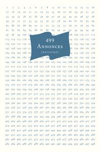 499 ANNONCES (PETITES)