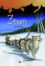ZOUM, CHAT DE TRAINEAU