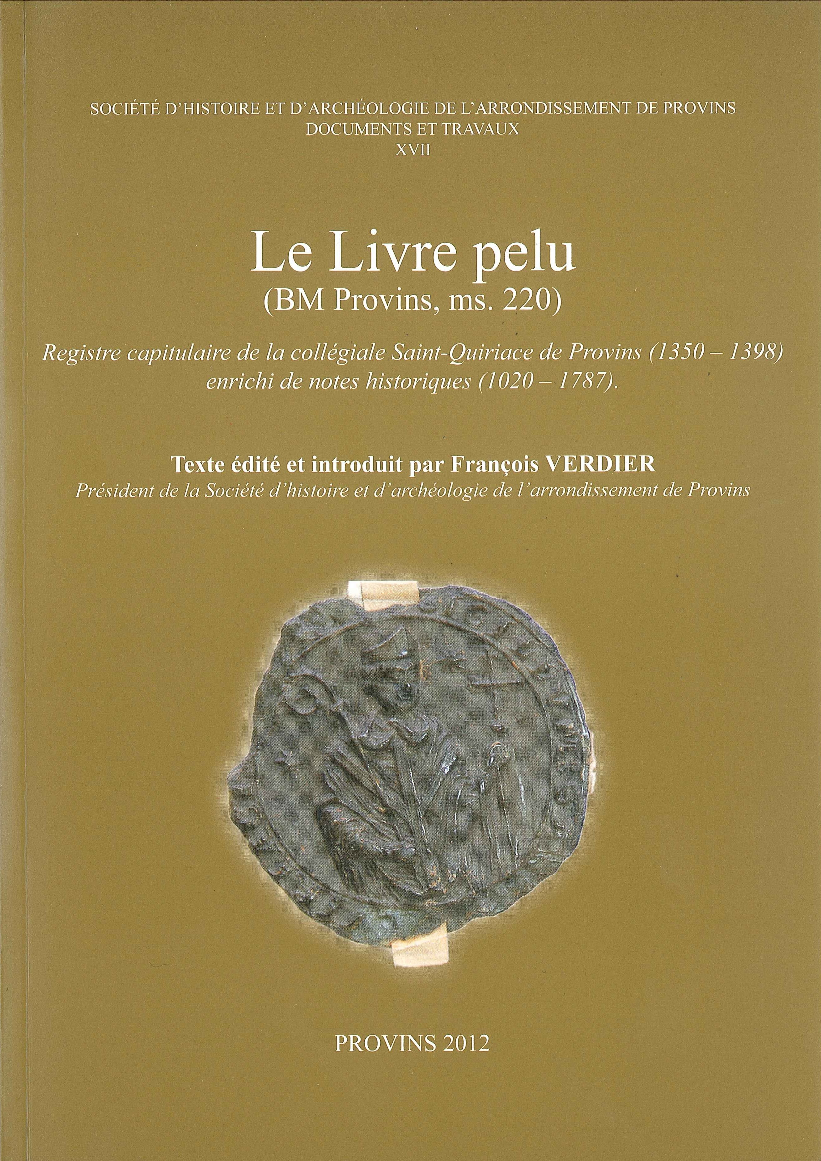 LE LIVRE PELU (BM PROVINS, MS. 220)