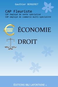 ECONOMIE DROIT CAP FLEURISTE