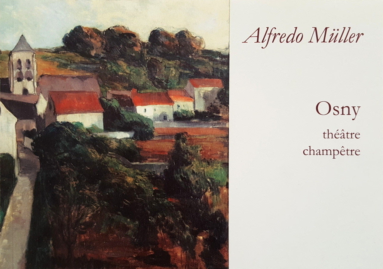 ALFREDO MULLER. OSNY THEATRE CHAMPETRE
