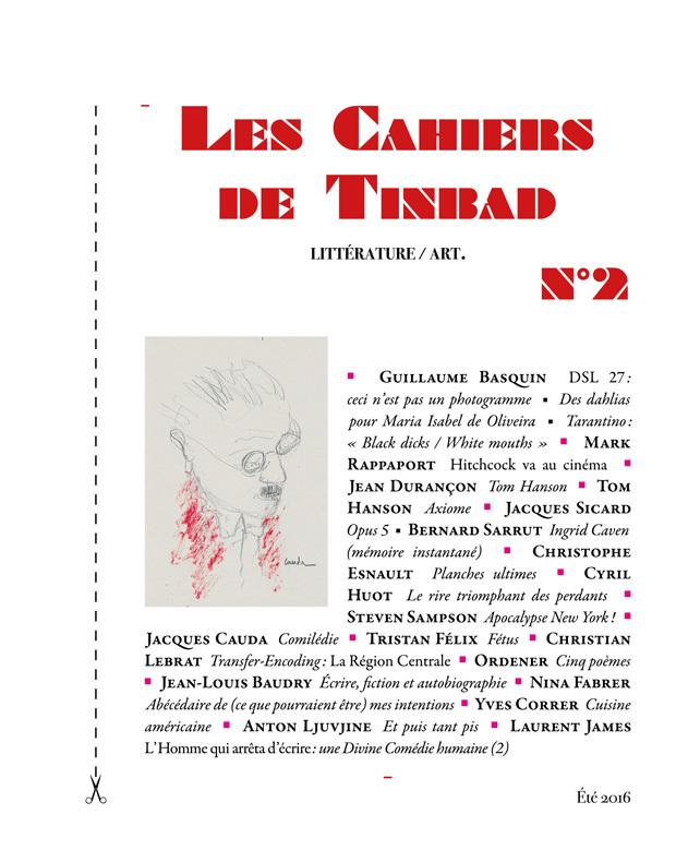 LES CAHIERS DE TINBAD N 2
