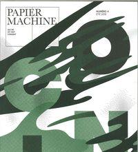 PAPIER MACHINE N 4 COIN ETE 2016