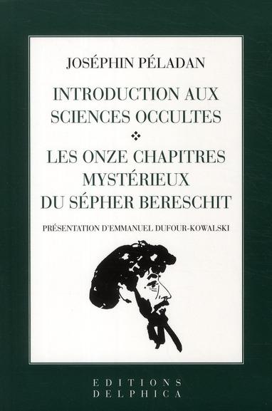 INTRODUCTION AUX SCIENCES OCCULTES