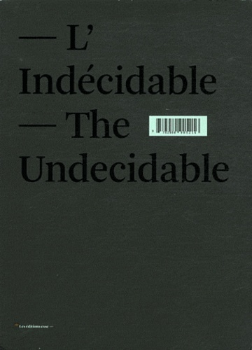 L'INDECIDABLE