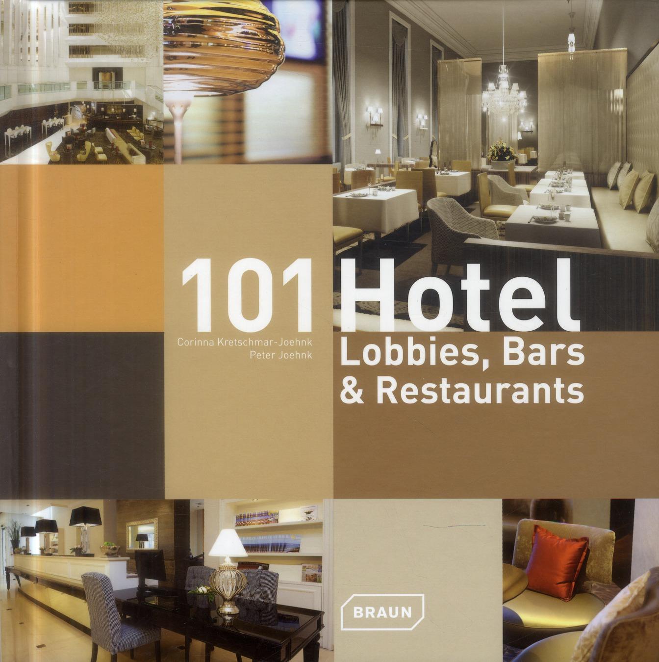 101 HOTEL - LOBBIES, BARS ET RESTAURANTS.